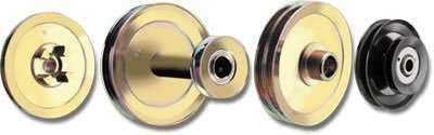 Split Steel Pulleys